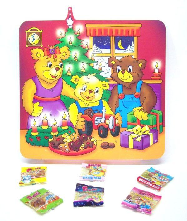 Bären Fruchtgummi Kalender