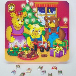 Bären Schokofüllung Kalender